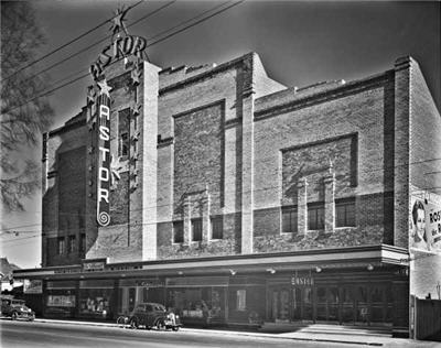 The Astor Theatre in 1936