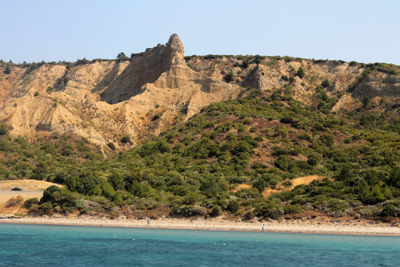 The sphinx, ANZAC cove