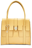 Whistles Francoise tote in mustard